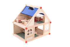 игрушка дома Стоковые Фото