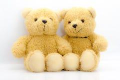 Игрушка 2 медведей Стоковое Фото