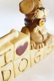 игрушка 2 собак модельная Стоковое фото RF