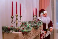 игрушка claus santa Стоковое Изображение RF