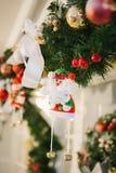 игрушка claus santa Стоковое фото RF