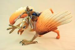 Игрушка figurine грифона Стоковое Фото