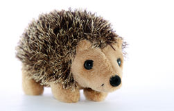 игрушка hedgehogs Стоковое Изображение RF