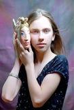 игрушка portait девушки рыб милая Стоковая Фотография