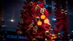 Игрушка ` s Нового Года сувенирного магазина праздника Стоковое Изображение RF