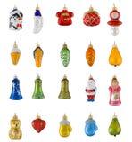 игрушки вычисляемые рождеством Стоковое Фото