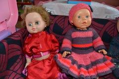 Игрушки в моем детском саде Стоковая Фотография