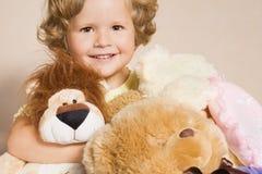 игрушки девушки малые Стоковое Изображение