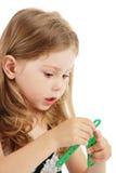игрушки девушки Стоковая Фотография