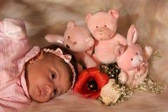 игрушки девушки Стоковая Фотография RF
