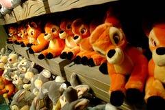игрушки заполненные сбыванием Стоковое Изображение