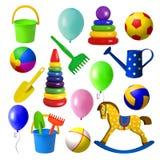 игрушки иллюстрации детей 3d Стоковые Изображения
