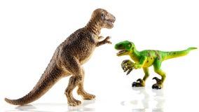 Игрушки динозавра Стоковое фото RF