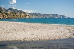 Игрушки и горы пляжа Burriana Стоковые Изображения RF