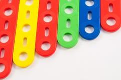 игрушки конструкции s ребенка Стоковое фото RF