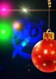игрушки красного цвета рождества Стоковое фото RF