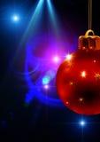 игрушки красного цвета рождества Стоковые Изображения RF