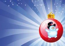 игрушки красного цвета рождества Стоковые Фото