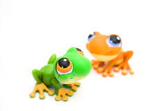 игрушки лягушки Стоковые Фотографии RF