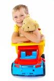 игрушки мальчика ся Стоковые Изображения RF