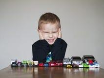 Игрушки мальчика Стоковое Изображение