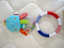 игрушки младенца s Стоковые Фотографии RF