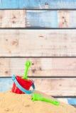 Игрушки на пляже Стоковое Изображение