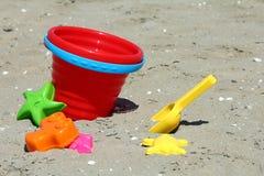 игрушки песка коробки Стоковые Изображения RF