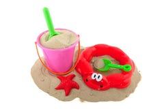 игрушки песка Стоковое фото RF