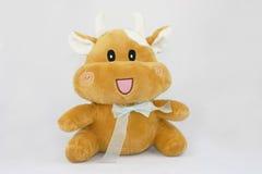 игрушки плюша коровы Стоковые Изображения
