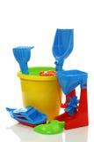 игрушки пляжа цветастые Стоковая Фотография