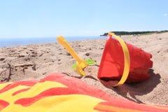 игрушки пляжа Стоковое Фото