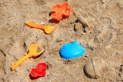 игрушки пляжа Стоковая Фотография RF
