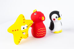 Игрушки пластмассы Стоковые Фотографии RF