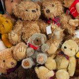 Игрушки плюшевого медвежонка Стоковые Фотографии RF