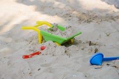 игрушки пляжа цветастые Стоковое Изображение