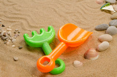 Игрушки пляжа Стоковые Фото