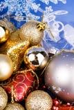 игрушки рождества великолепные Стоковая Фотография