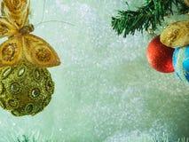 Игрушки рождественской елки стоковое изображение rf