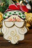 Игрушки рождества деревянные для рождественской елки Игрушка Санта Клауса Стоковые Изображения