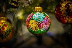 Игрушки Санта Клауса и рождества Стоковое Изображение