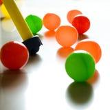игрушки спортивной площадки Стоковое фото RF