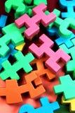 Игрушки строительного блока Стоковое Изображение RF