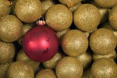 игрушки текстуры рождества Стоковое Фото