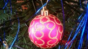 Игрушки, украшения Новый Год, рождество Стоковые Фото