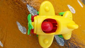 Игрушки для развлечений, высокие духи самолета стоковые изображения