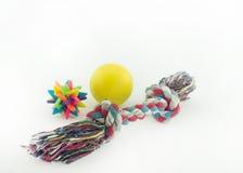 Игрушки для собак Стоковые Фото