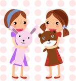 игрушки девушки Стоковые Фото