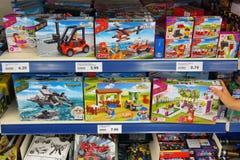 Игрушки Banbao в магазине стоковое фото rf