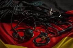 Игрушки Bdsm для боли и удовольствия Стоковые Фотографии RF